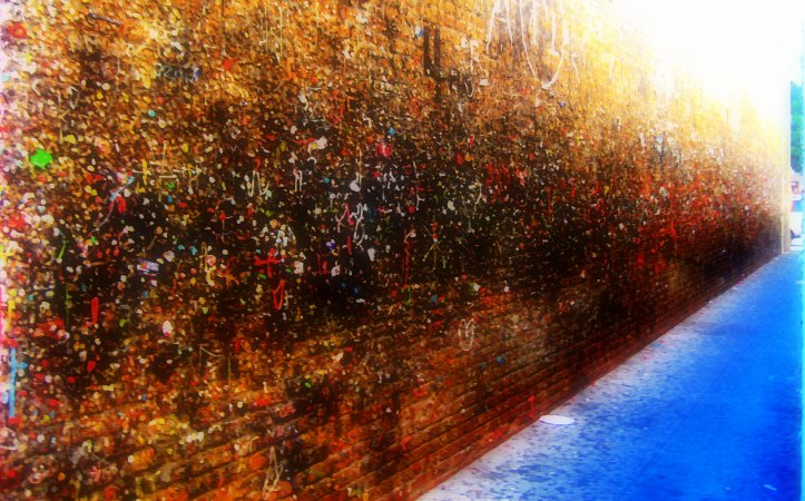 Abstract Expressionism: Bubble Gum Alley