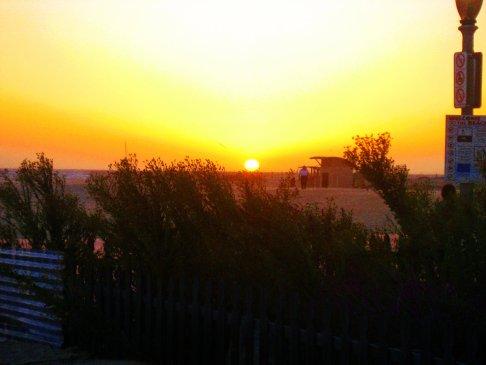 Sunset at Marina Del Rey
