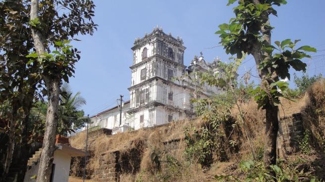 A church in Goa