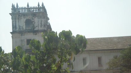 An old Church in Goa