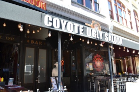 The infamous Coyote Ugly Salon